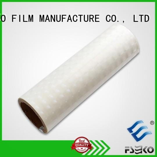 clear holographic film designed for menu FSEKO