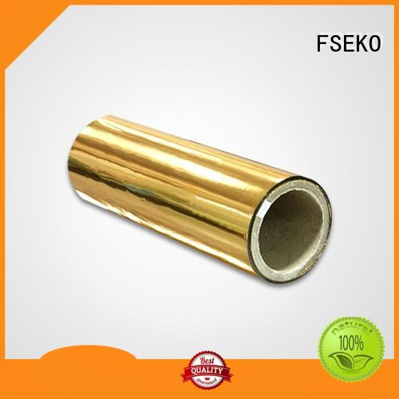 FSEKO metallized polyester film suppliers pdg for bags