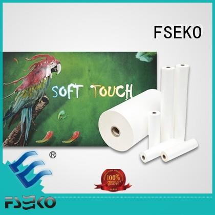 supplier film FSEKO Brand glossy lamination film factory