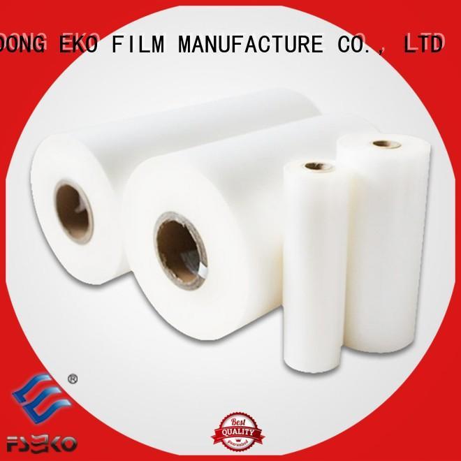 customized heat sealable bopp film hot sale fo box FSEKO