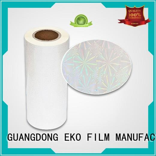 roll sheet holographic films manufacturers thermal FSEKO Brand
