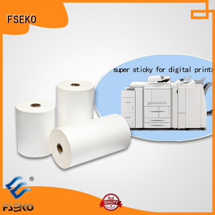 scotch laminating film customized fo box FSEKO
