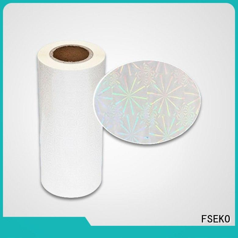 FSEKO Wholesale thermal laminating film rolls in China for bags