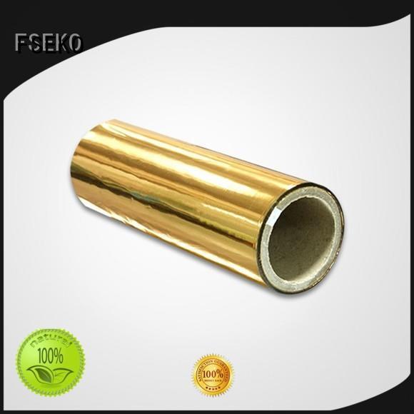 quality metallized pet film China fo box