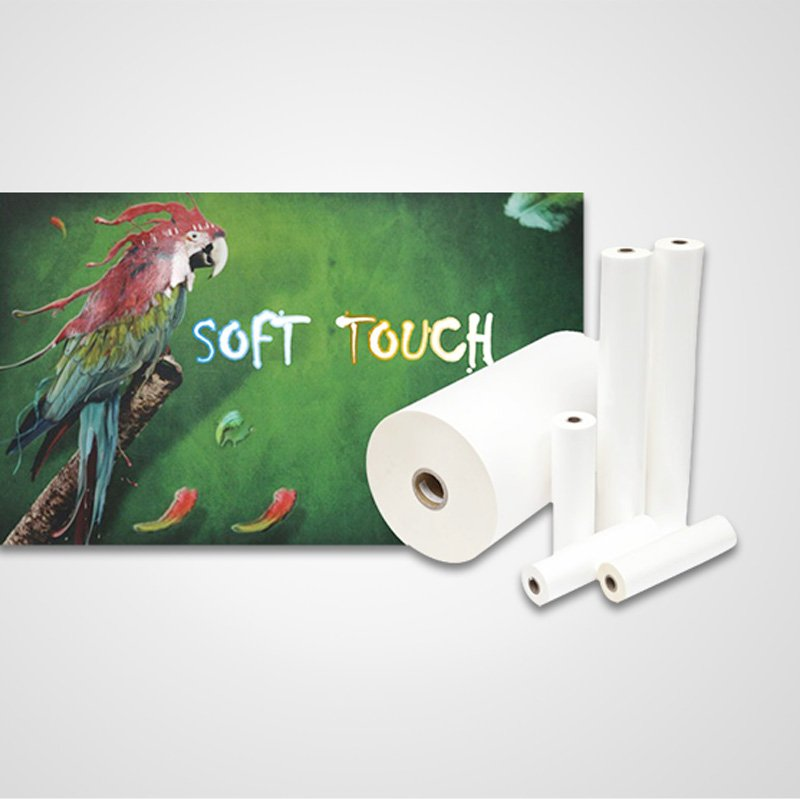 FSEKO HOT SALE SOFT TOUCH THERMAL LAMINATION ROLL FILM BVM Soft touch thermal lamination film image2