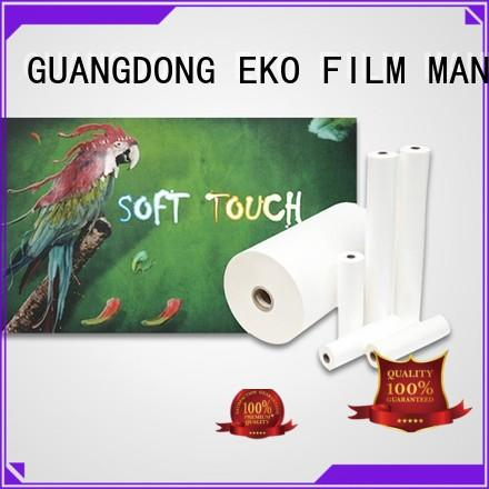 popular soft touch velvet lamination manufacturers fo box