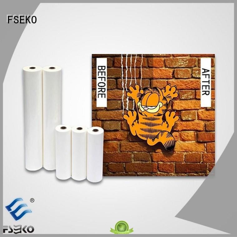 Quality FSEKO Brand laminating film price sf17 anti