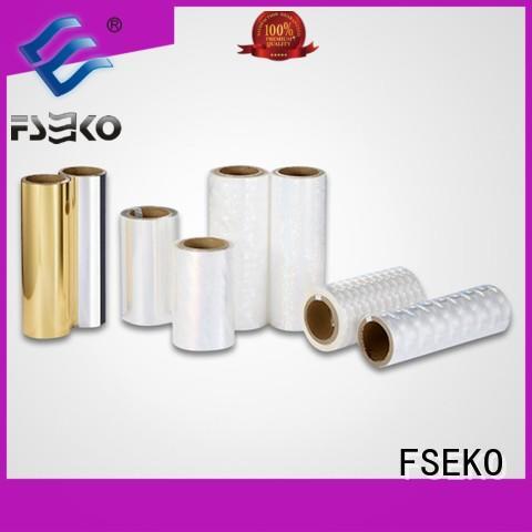 FSEKO green hot foil stamping online for postcard