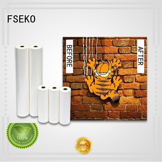 FSEKO excellent Velvet Lamination Film online for book cover