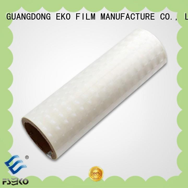 FSEKO moisture proof holographic pvc film high quality for bags