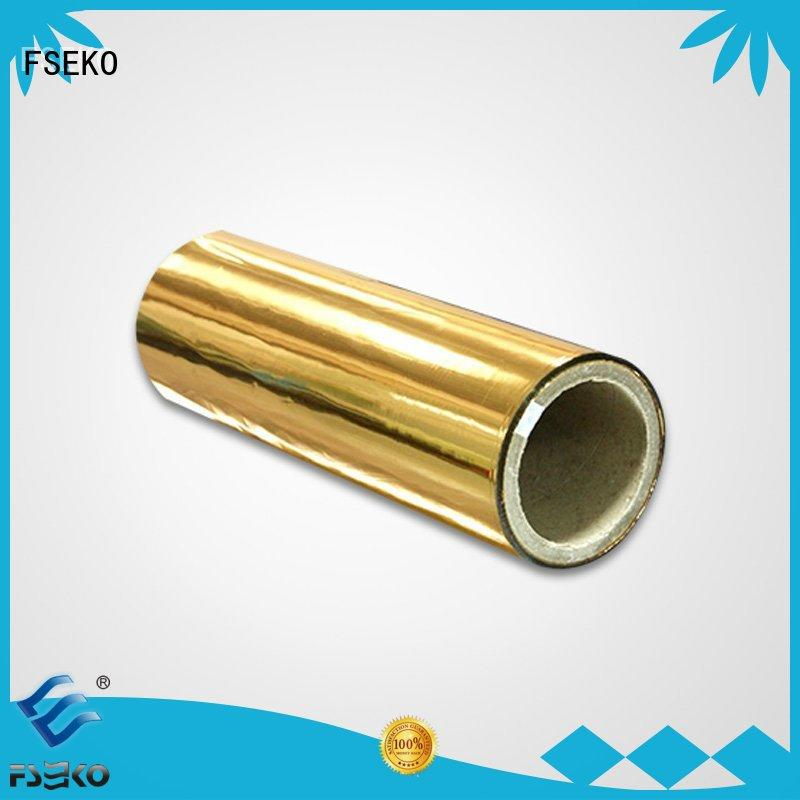 economic sale metallised pet film FSEKO Brand