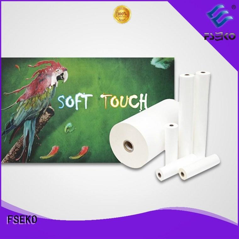 FSEKO best soft touch matte laminate online for poster