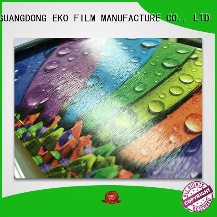 Wholesale glitter embossed plastic sheet FSEKO Brand