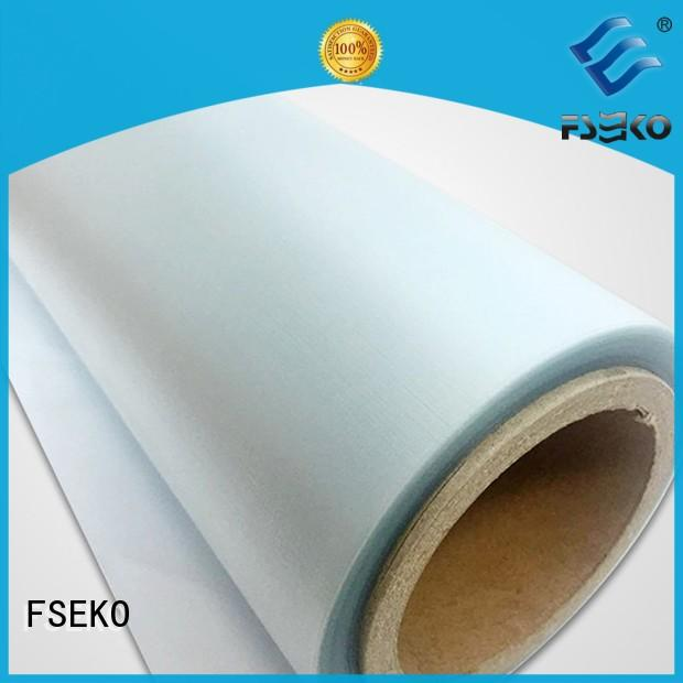 Quality FSEKO Brand embossed plastic sheet lamination