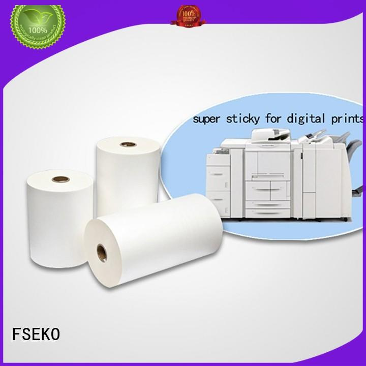 Hot super stick laminating film thermal FSEKO Brand