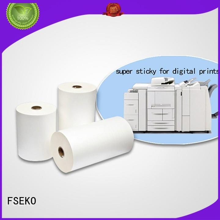 dbm dbg bonding matte thermal Lamination Film Prices FSEKO Brand