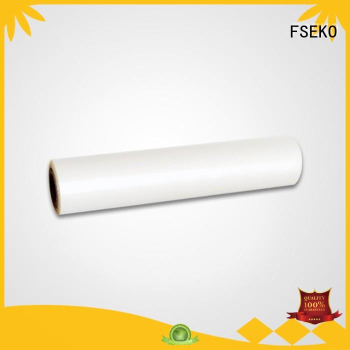roll matte FSEKO Brand pet thermal lamination film