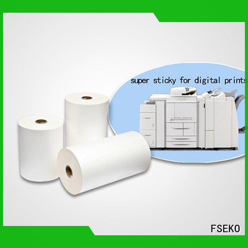FSEKO laminate large paper China fo box