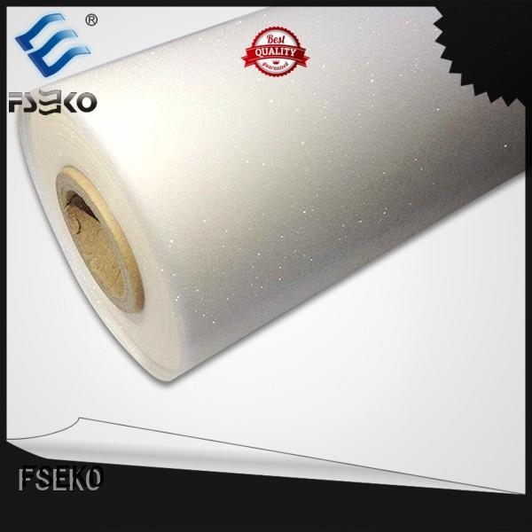 FSEKO new embossing film manufacturers for bags
