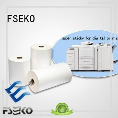 FSEKO high quality thermal lamination film China for book cover