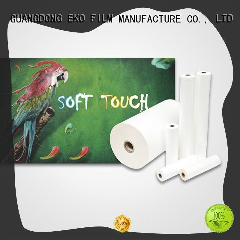 FSEKO soft touch lamination suppliers manufacturer for book cover