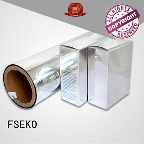Quality FSEKO Brand metallised pet film film pet