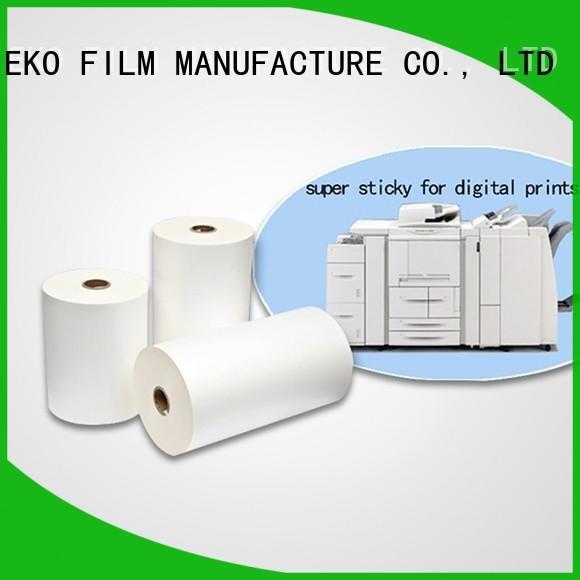 super sticky thick laminate paper manufacturers for menu