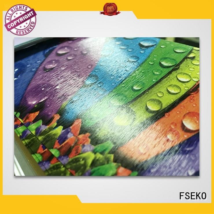 embossed film high quality for menu FSEKO