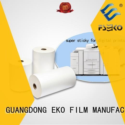 FSEKO thermal lamination film manufacturers fo box