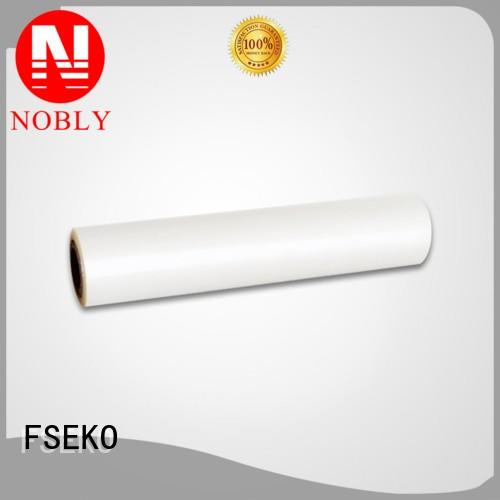 Quality FSEKO Brand pg pet thermal lamination film