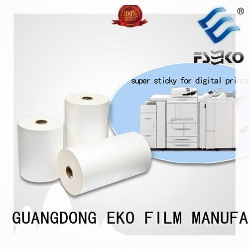 FSEKO Latest thermal lamination film supplier factory for bags