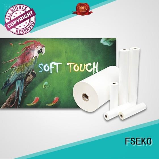 lamination roll sale FSEKO Brand soft touch lamination suppliers