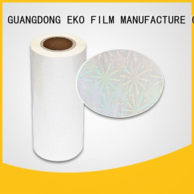 FSEKO rainbow holographic film wholesale for poster