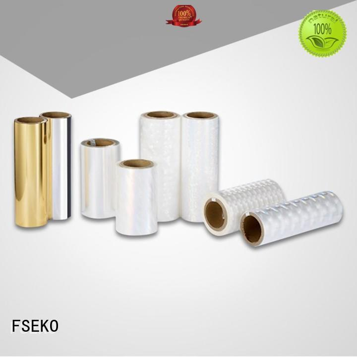 Wholesale roll hot foil stamping supplies FSEKO Brand