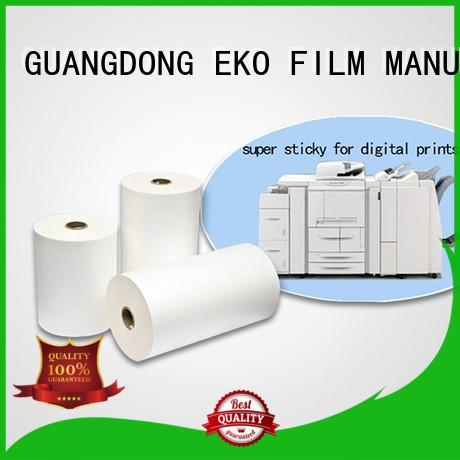 FSEKO excellent 10 mil laminating film customized for book cover