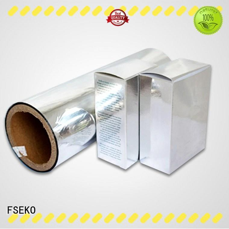 MANUFACTURER HOT SALE PET METALIZED THERMAL LAMINATION FILM PDS