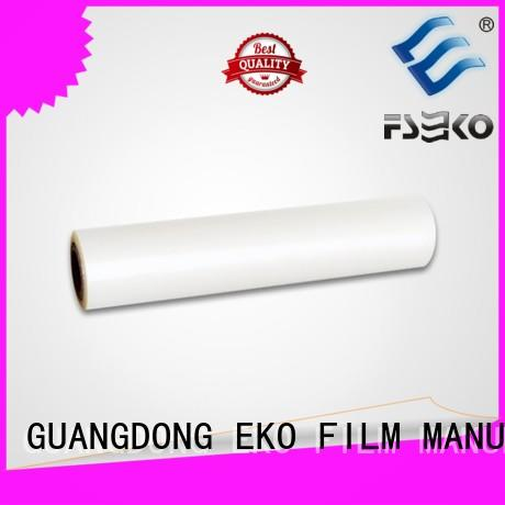 pet film roll price pet thermal lamination film thermal company