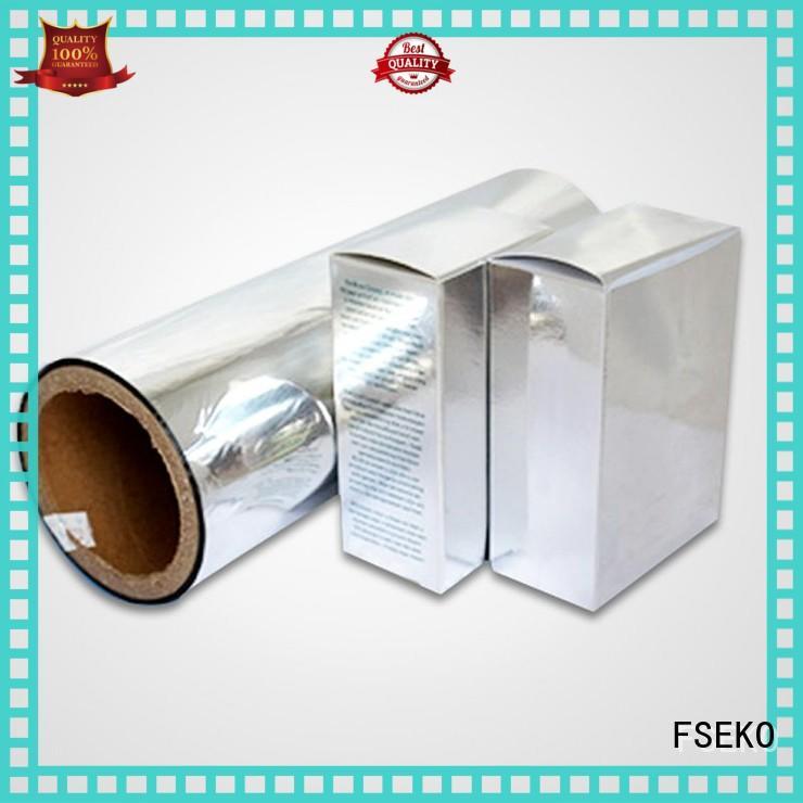FSEKO moisture proof metallized bopet film online fo box