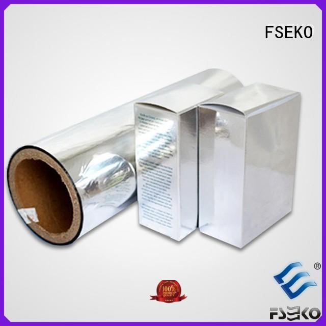 metallised pet film lamination economic FSEKO Brand company