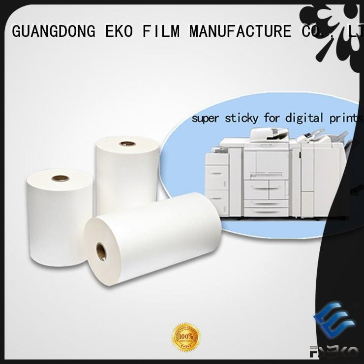 FSEKO Brand matte super bonding film super stick laminating film