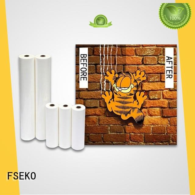 FSEKO scratch resistant laminate factory price for poster
