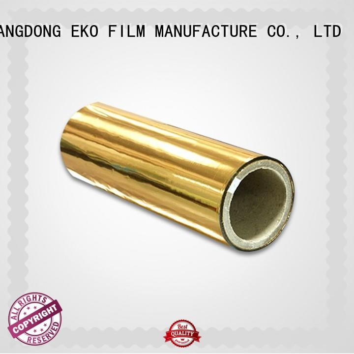 quality metalized film manufacturer in China for menu