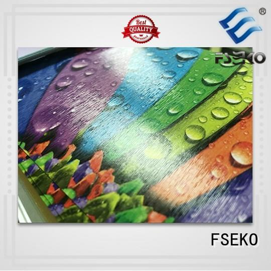 FSEKO hot sale embossing film plm for poster