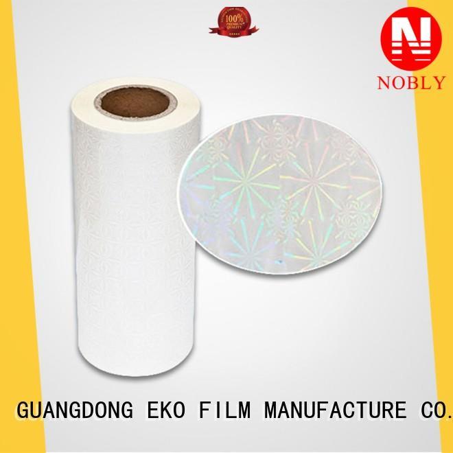 FSEKO hot sale holographic films manufacturers online fo box