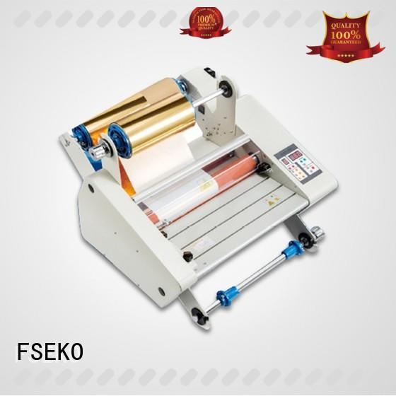 FSEKO high quality thermal laminator manufacturer for school
