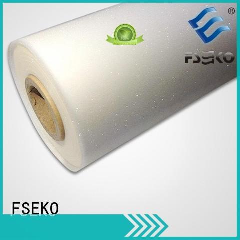 embossed plastic sheet linen plm thermal FSEKO Brand company