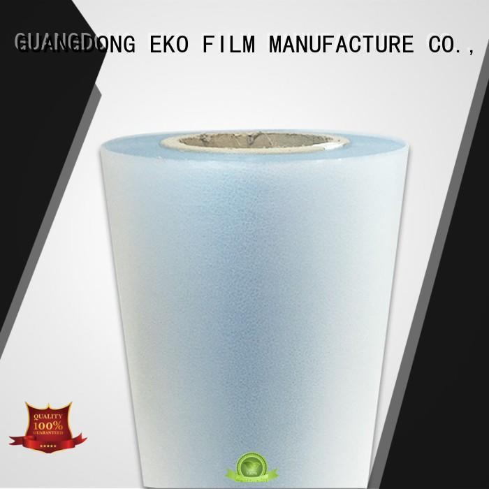 thermal phm lamination FSEKO Brand embossed plastic sheet manufacture