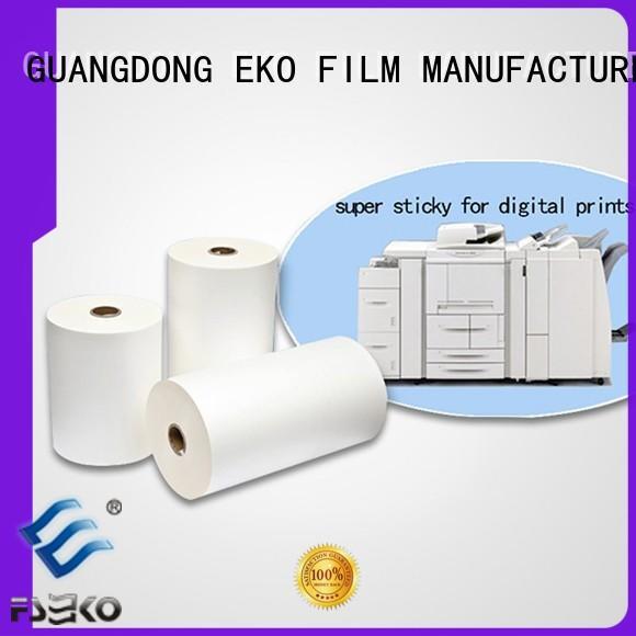FSEKO professional thermal lamination film wholesale fo box