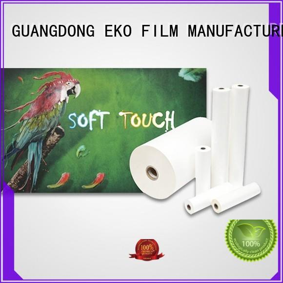soft touch lamination film online for book cover FSEKO