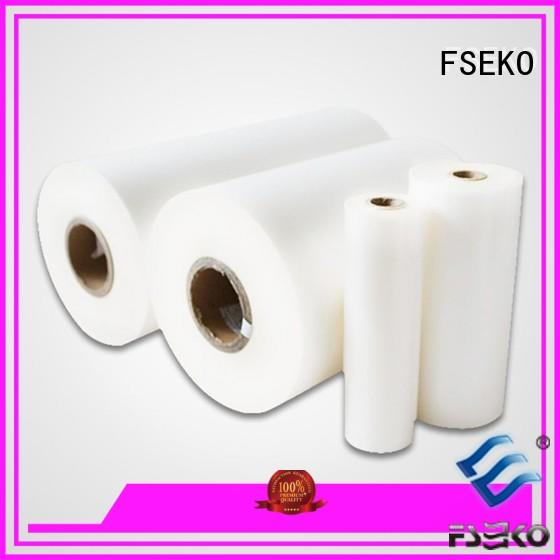 FSEKO excellent bopp lamination film suppliers factory fo box